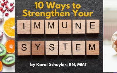 Ten Ways To Boost Your Immunity RIGHT NOW